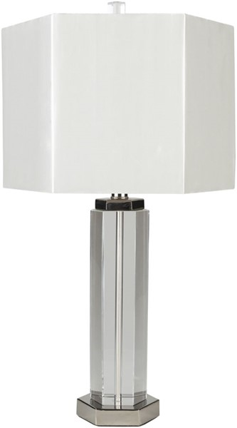 Surya Layla White Crystal Table Lamp - 13.75x24.75 LAL-100