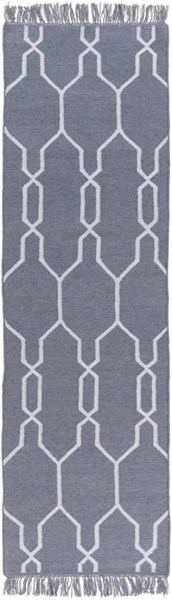 Lagoon Contemporary Gray Ivory PET Yarn Runners 12827-VAR1