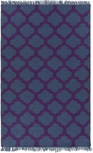 Lagoon Contemporary Navy Violet PET Yarn Area Rug LGO2020-58