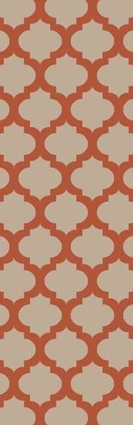 Lagoon Contemporary Rust Beige PET Yarn Runner LGO2024-268