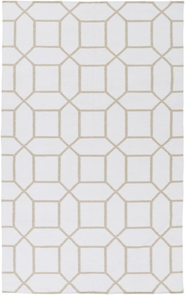 Surya Lagoon Ivory Light Gray PET Yarn Area Rug LGO2044-58