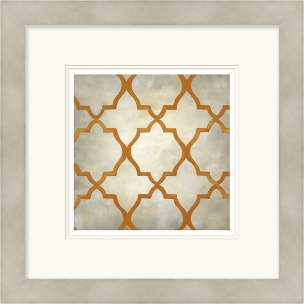Surya Wall Decor Orange Limited Edition Giclee Print Paper Wall Art LJ4060-1919