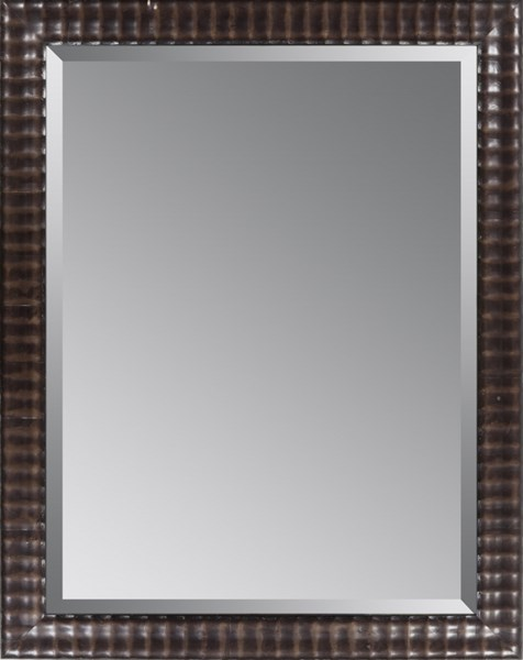 Surya Wall Decor Charcoal Wood Wall Mirror - 46x36 LJ4206-3646