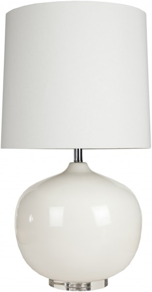 Surya Colt White Ceramic Crystal Table Lamps- 17x31.50 LMP-1015-76-VAR