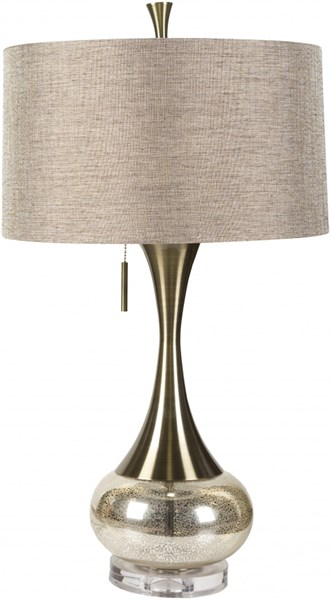 Surya Karval Camel Glass Table Lamp - 18x33 LMP-1059