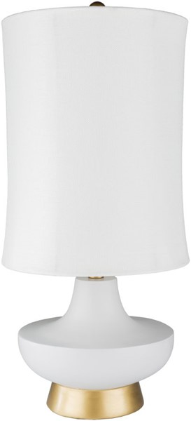 Surya Brookhaven Silver Table Lamp - 12.5x26.50 LMP-1080