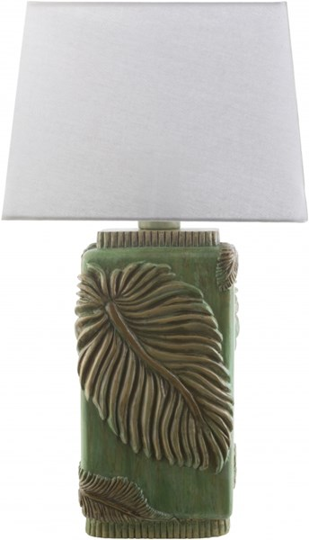 Lana Contemporary Green Resin Polyester Table Lamps 14331-VAR1