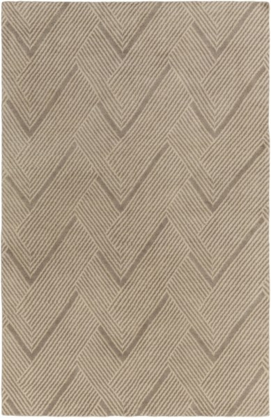 Lenox Olive Sea Foam Wool Cotton Area Rug ( L 108 X W 72 ) LNX4001-69
