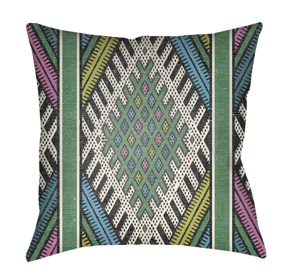 Surya Lolita Bright Green Pillow Cover - 20x20 LOTA1441-2020