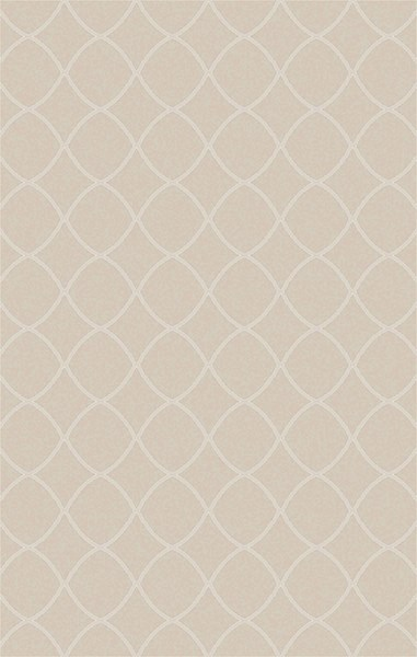 Laural Contemporary Ivory Beige Jute Area Rug ( L 90 X W 60 ) LRL6001-576