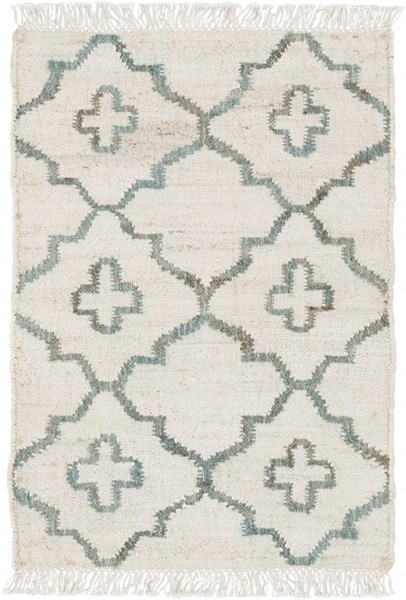 Laural Ivory Moss Fabric Area Rug  ( L 36 X W 24 ) LRL6012-23