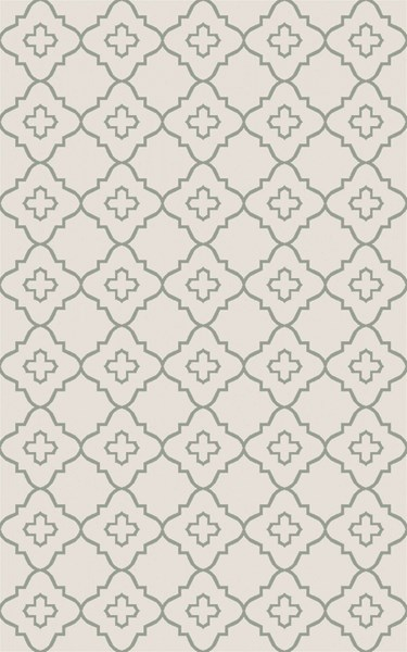Laural Ivory Moss Jute Area Rug ( L 90 X W 60 ) LRL6012-576