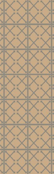 Laural Contemporary Ivory Beige Moss Jute Runners & Area Rugs 12913-VAR1