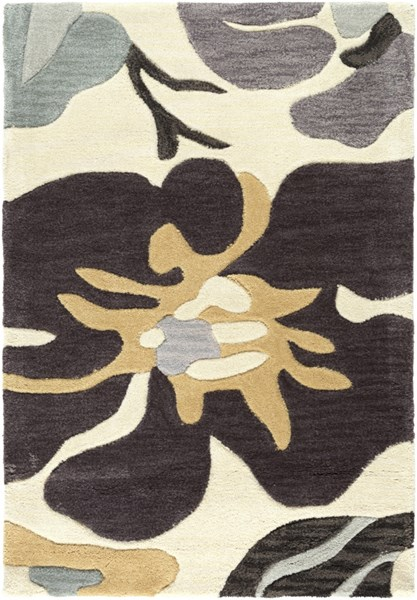 Lava Olive Chocolate Beige Polyester Rugs LAVA-DCR-BNDL
