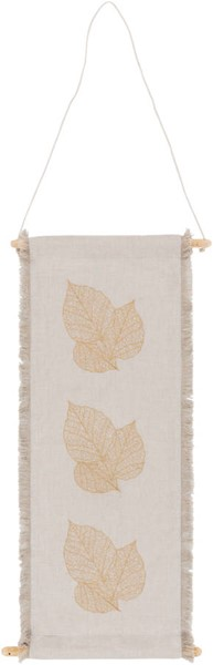 Surya Leaves Ivory Wheat Wall Hangings - 30x12 LVE1000-3012