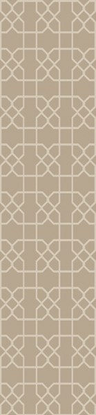 Lydia Contemporary Ivory Wool Hand Knot Runner LYD6004-268