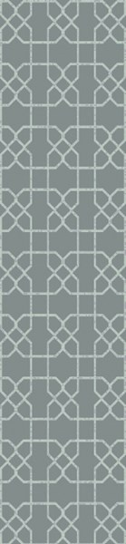 Lydia Contemporary Moss Wool Hand Knot Runner LYD6005-268