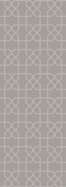 Lydia Contemporary Gray Wool Hand Knot Runner LYD6006-268