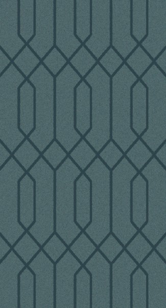 Lydia Contemporary Teal Wool Hand Knot Area Rug LYD6010-69