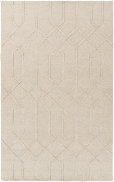 Lydia Light Gray Wool Area Rug - 72 x 108 LYD6016-69