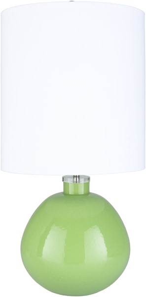 Surya Lyric Lime Glass Table Lamp - 15.5x30.25 LYR-003