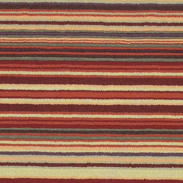 Surya Mystique Burgundy Burnt Orange Dark Green Wool Sample Area Rug 18 x 18 M102-1616