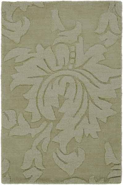 Mystique Contemporary Lime Fabric Hand Woven Area Rug (L 36 X W 24) M172-23
