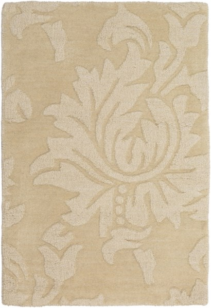 Mystique Contemporary Butter Fabric Hand Woven Area Rug M235-23