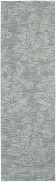 Mystique Contemporary Slate Wool Geometric Runner (L 96 X W 30) M236-268