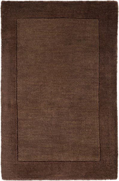 Mystique Contemporary Mocha Cherry Slate Wool Rugs 209-VAR1