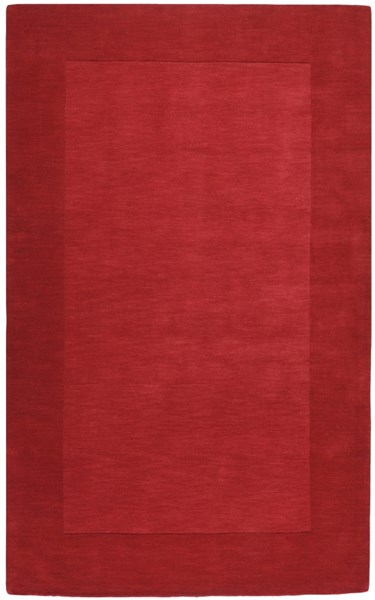 Mystique Contemporary Cherry Fabric Hand Woven Area Rug (L 96 X W 60) M299-58