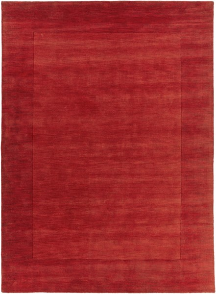 Mystique Contemporary Cherry Fabric Rectangle Area Rug (L 132 X W 96) M299-811