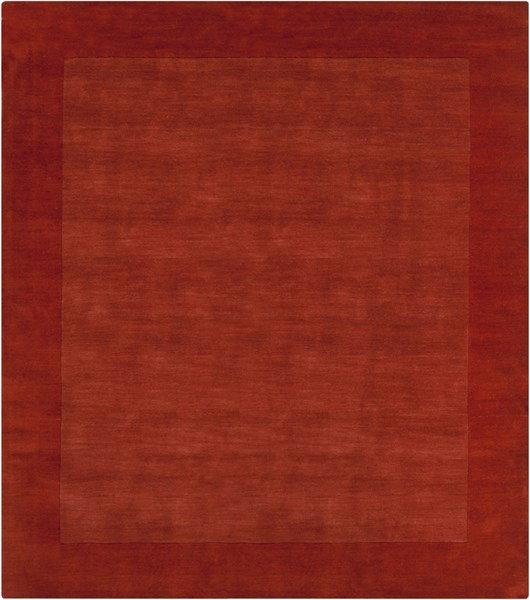 Mystique Contemporary Rust Wool Square Area Rug (L 96 X W 96) M300-8SQ