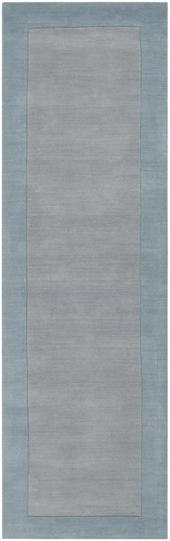 Mystique Contemporary Moss Slate Wool Runner (L 96 X W 30) M305-268
