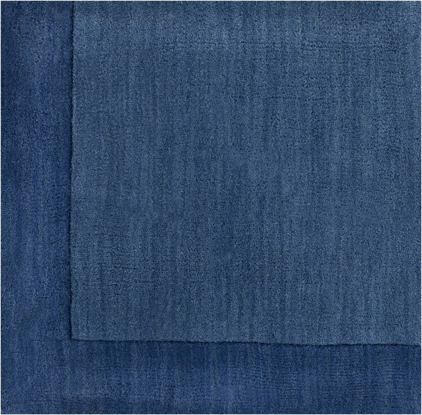 Surya Mystique Dark Blue Wool Sample Area Rug 18 x 18 M308-1616