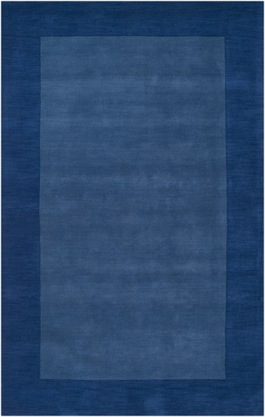 Mystique Contemporary Cobalt Fabric Area Rug (L 96 X W 60) M308-58