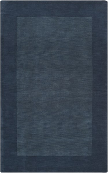 Mystique Contemporary Navy Fabric Area Rug (L 96 X W 60) M309-58