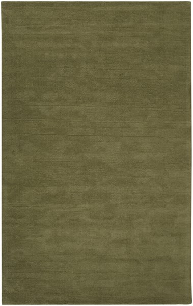 Mystique Contemporary Olive Fabric Area Rug (L 96 X W 60) M329-58