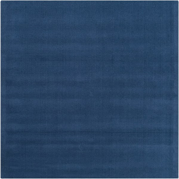 Mystique Cobalt Wool Square Area Rug (L 96 X W 96) M330-8SQ