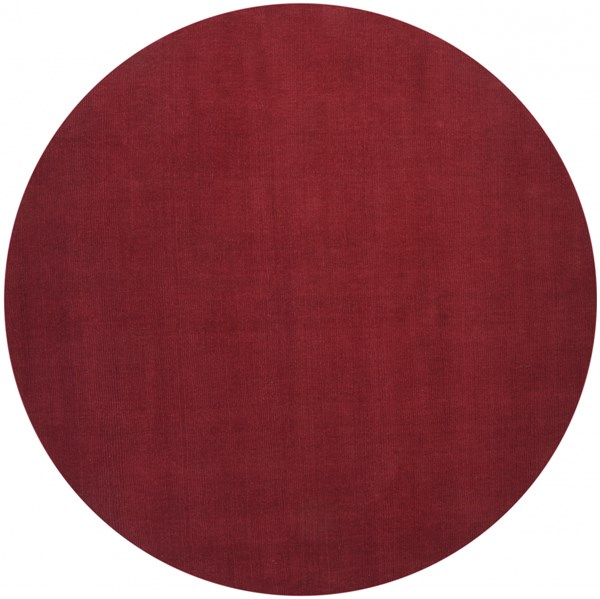Mystique Cherry Wool Round Area Rug (L 96 X W 96) M333-8RD