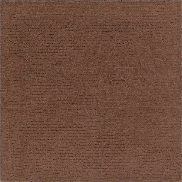 Surya Mystique Dark Brown Sample Area Rug 18 x 18 M334-1616