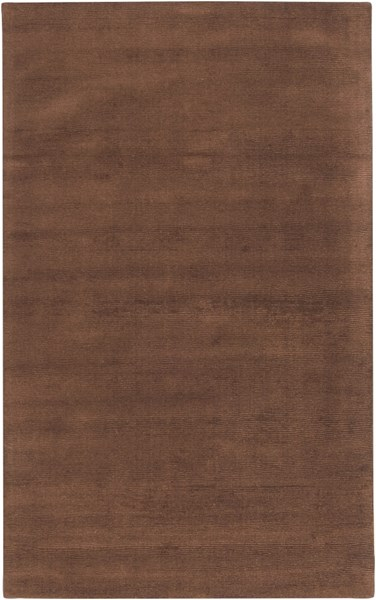 Mystique Contemporary Mocha Fabric Rectangle Area Rug M334-58