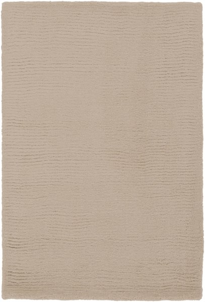 Mystique Contemporary Taupe Fabric Rectangle Area Rug (L 36 X W 24) M335-23