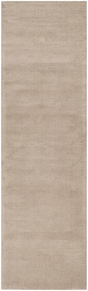 Mystique Taupe Wool Hand Woven Runner (L 96 X W 30) M335-268