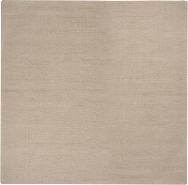 Mystique Contemporary Taupe Wool Square Area Rug (L 96 X W 96) M335-8SQ