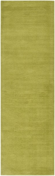 Mystique Contemporary Lime Fabric Runner (L 96 X W 30) M337-268