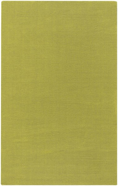 Mystique Lime Fabric Hand Woven Area Rug (L 96 X W 60) M337-58