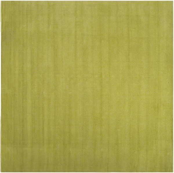 Mystique Lime Wool Square Area Rug (L 96 X W 96) M337-8SQ