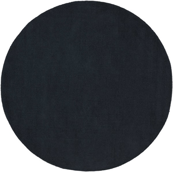 Surya Mystique Charcoal Round Area Rug 72 x 72 M340-6RD