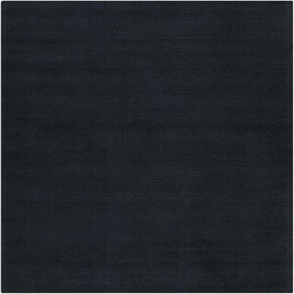 Mystique Charcoal Wool Square Area Rug (L 96 X W 96) M340-8SQ